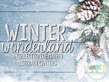 Winter Centers {Math & Literacy}