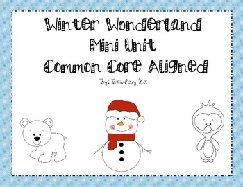 Winter Wonderland Thematic Unit