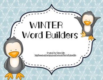 Winter Word Builders