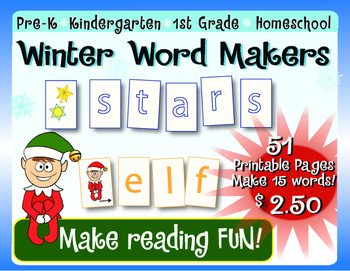 Winter Word Makers