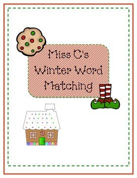 Winter Word Matching