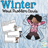 Winter Word Problem Cards