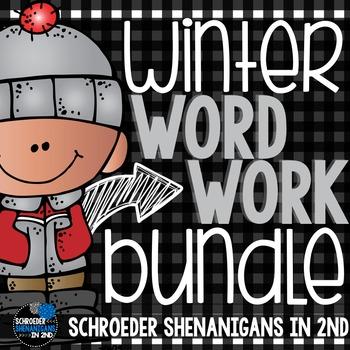 Winter Word Work BUNDLE!