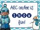 Winter Word Work Literacy Centers