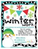 Winter Work for the Intermediate Classroom