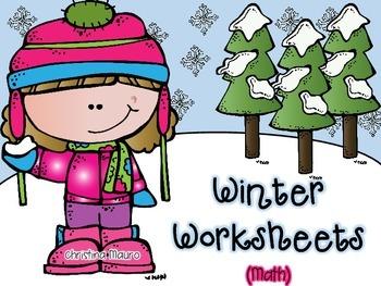 Winter Printables {Math}
