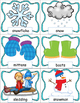 Winter Activities Pocket Chart Cards and Writing Activities
