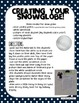 """Winter Writing Activity-""""How I got stuck in a snow globe.."""""""