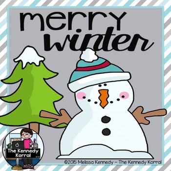 Winter Makes Me Merry and Bright {Writing Activity}