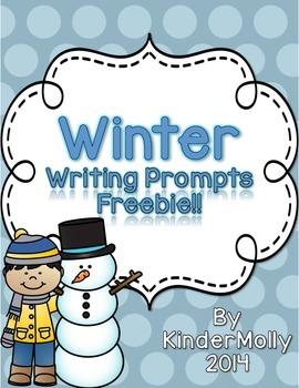 Winter Writing Prompts - FREEBIE!