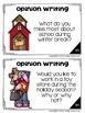 Winter Writing Prompts: Opinion, Informative, Narrative: 3-5