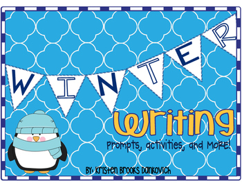 Winter Writing Prompts, Picture Cards, and MORE!