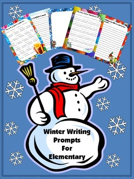 Winter Writing Prompts for Elementary