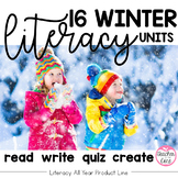Winter Reading/ Fluency with Coordinating Writing and Art