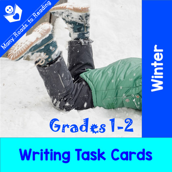 Winter Writing Task Cards: Grades 1-2
