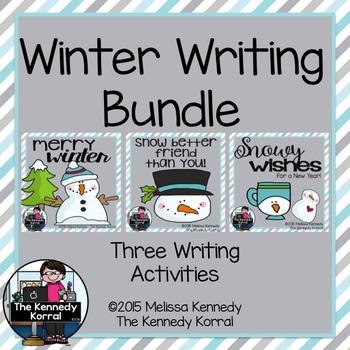 Writing Winter BUNDLE