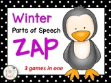 Winter ZIP, ZAP, ZOP Nouns, Verbs, Adjectives