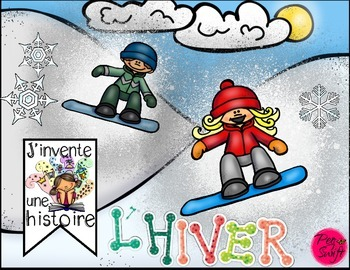 Winter and Christmas Story Springboards ~ French ~ J'inven