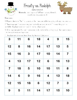 Winter and Holiday Math Games