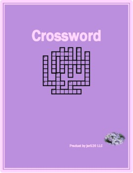 Winter in English crossword