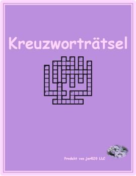 Winter in German crossword