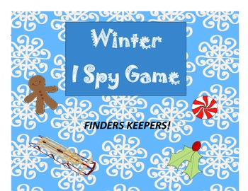 Winter Game - Winter & Christmas I Spy