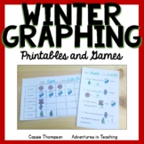 Winter Graphing Printables and Games
