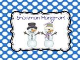 Winter Snowman ELA Hangman Game