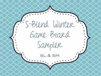 S-Blend Winter Game Board Sampler - SM & SL