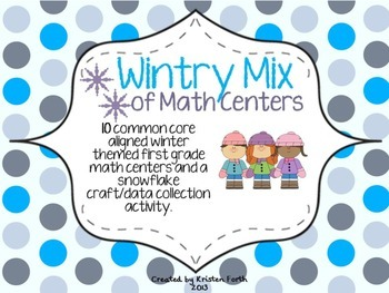 Wintry Mix of Math Centers