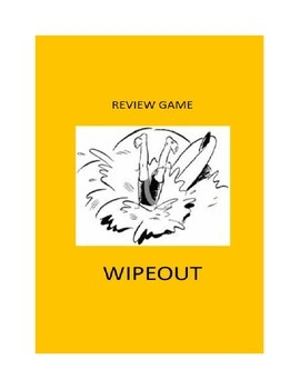 Review Game for Any Classroom: Wipeout