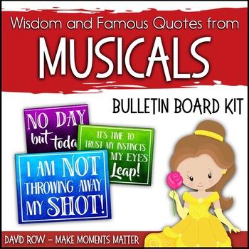 Wisdom from Musicals! - Bulletin Board Set