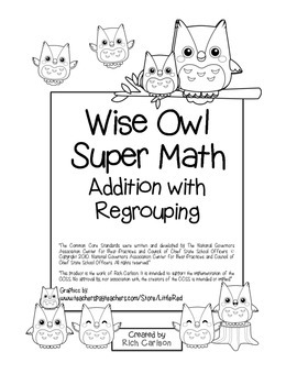 """""""Wise Owl Super Math"""" Addition With Regrouping - Common Co"""