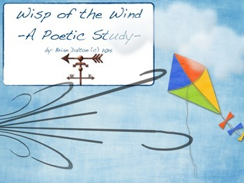 A Poetry Study for Children: Wisp of the Wind