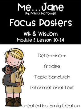 Wit and Wisdom Me...Jane Focus Posters