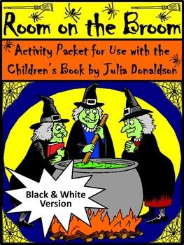 Halloween Language Arts Activities: Room on the Broom Hall