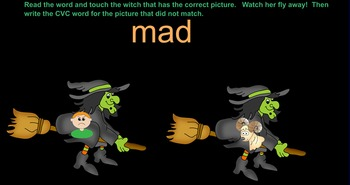 Witch CVC Smartboard