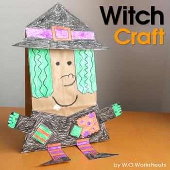 Witch Craft - Halloween Activity