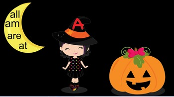 Witch Letters, Beginning Sounds and Sight Words