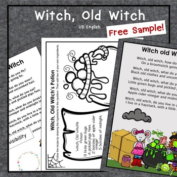 Free Witch, Old Witch Sample Halloween US