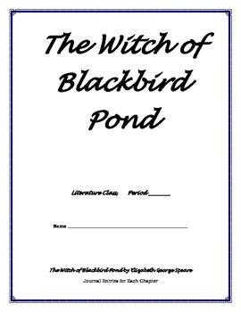 Witch of Blackbird Pond - Journal Entries Printable