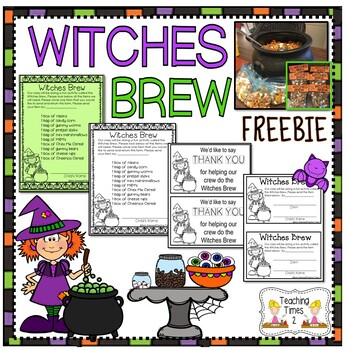 Witches' Brew Activity Pack