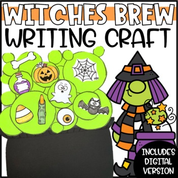 Witches' Brew Halloween Writing Craftivity