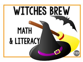 Witches Brew Math & Literacy Craftivity