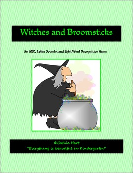 Witches and Broomsticks!  ABC's, Letter Sounds, and Sight Words