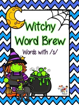 Witchy Word Brew: Words with /s/