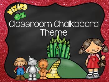 Wizard of Oz Classroom Theme 1