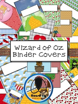 Wizard of Oz Binder Covers