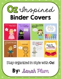 Oz-Inspired Binder Covers