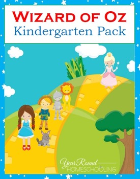 Wizard of Oz Kindergarten Pack